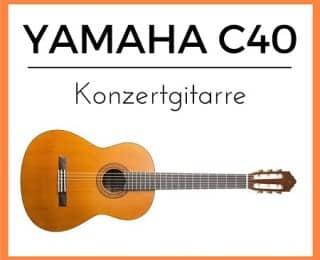 Yamaha C40 Konzertgitarre