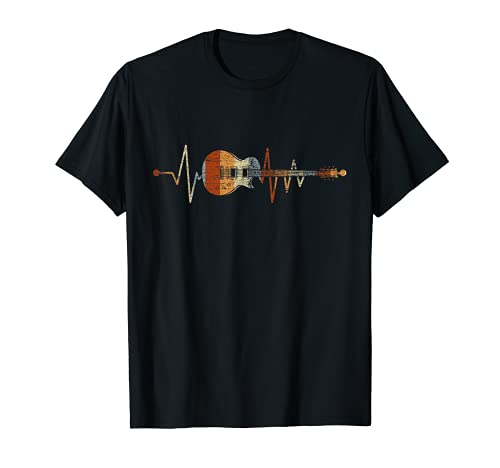 Geschenk für Gitarrenspieler Herzschlag...