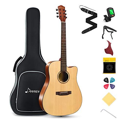 Donner Akustik Gitarre 4/4 in voller...