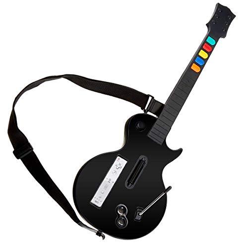 DOYO Black Wii Gitarre, abnehmbarer Wii...