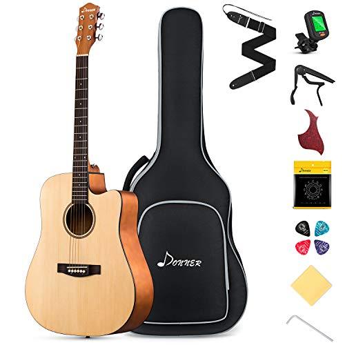 Donner Akustikgitarre Set 41 Zoll...