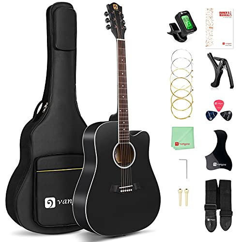 Vangoa 4/4 Akustik Gitarre Volle Größe...
