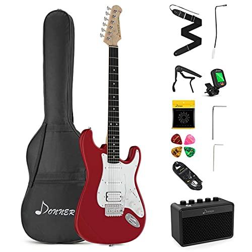 Donner E-Gitarre Set 39 Zoll volle...
