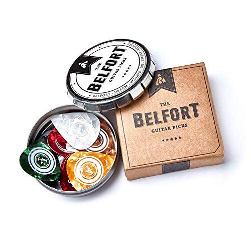 BELFORT® 20 hochwertige Plektren für...