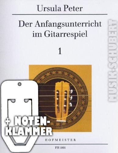Der Anfangsunterricht im Gitarrespiel...