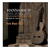Hannabach 653099 Klassikgitarrensaiten Serie 890 7/8 Kindergitarre Mensur: 62-64cm - Satz