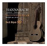 Hannabach 653055 Klassikgitarrensaiten Serie 890 1/8 Kindergitarre Mensur: 44-48cm - A5w
