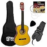 Klassische Spanische Gitarre Für Kinder im Set, 1/4 Größe, von Mad About, CLG1-14-PACK