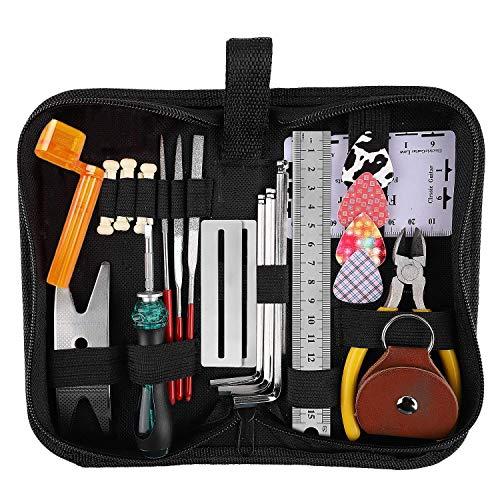 YANSHON Gitarre Reparatur-Werkzeug-Set,...