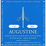 Augustine Klassik Gitarrensaiten Blue Label Satz Regular Tension/Basssaiten High Tension