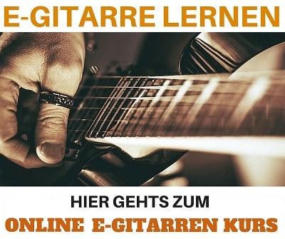 E-Gitarre lernen