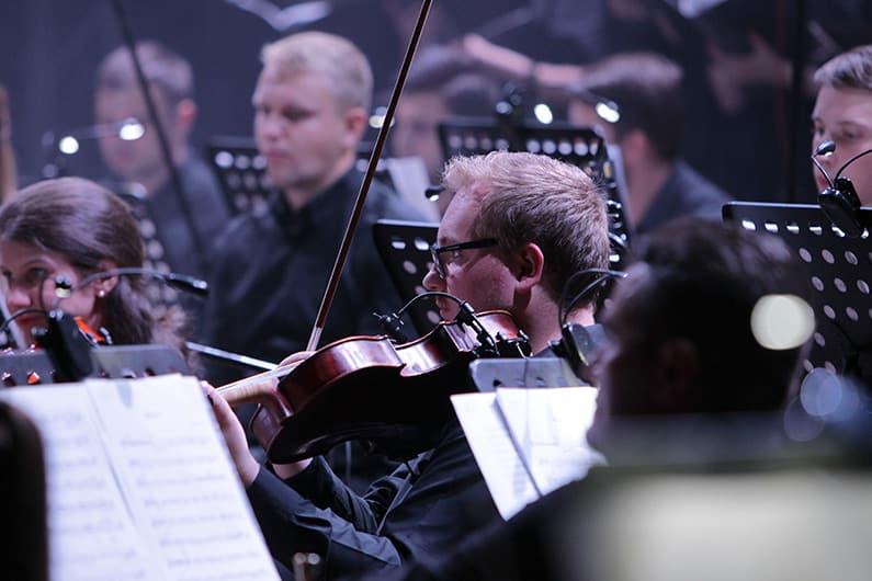 Die Gitarre im Orchester - ein seltener Gast