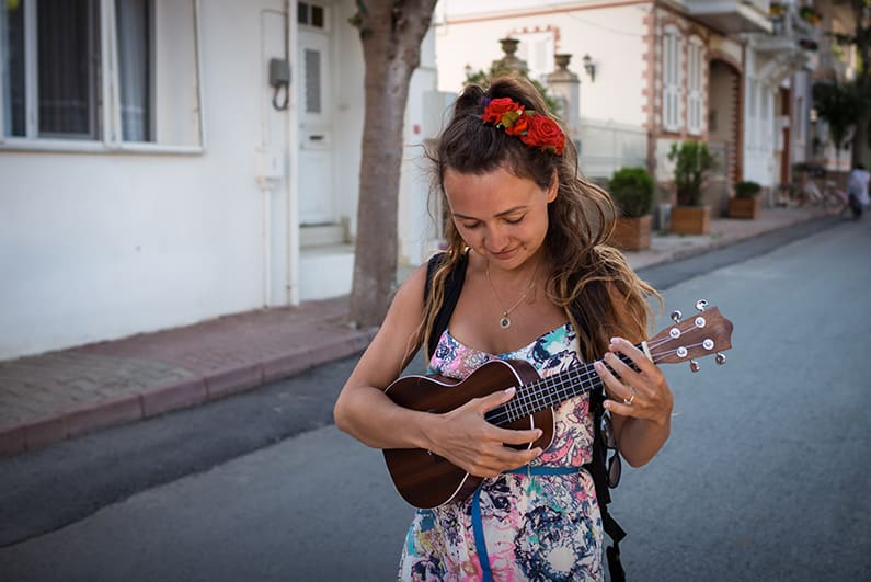 Die Reisegitarre - der musikalische Reisebegleiter