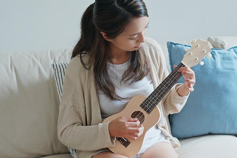 Ist eine Ukulele eine kleine Gitarre?
